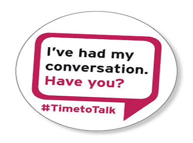 Time To Talk Day 2017