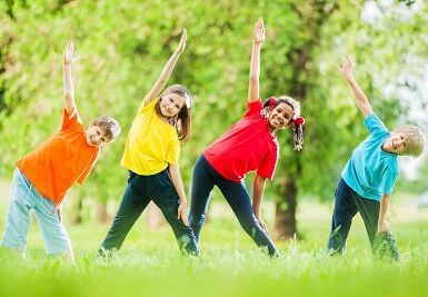 Keep your children healthy and active this summer holiday