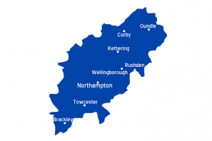 Northamptonshire_map