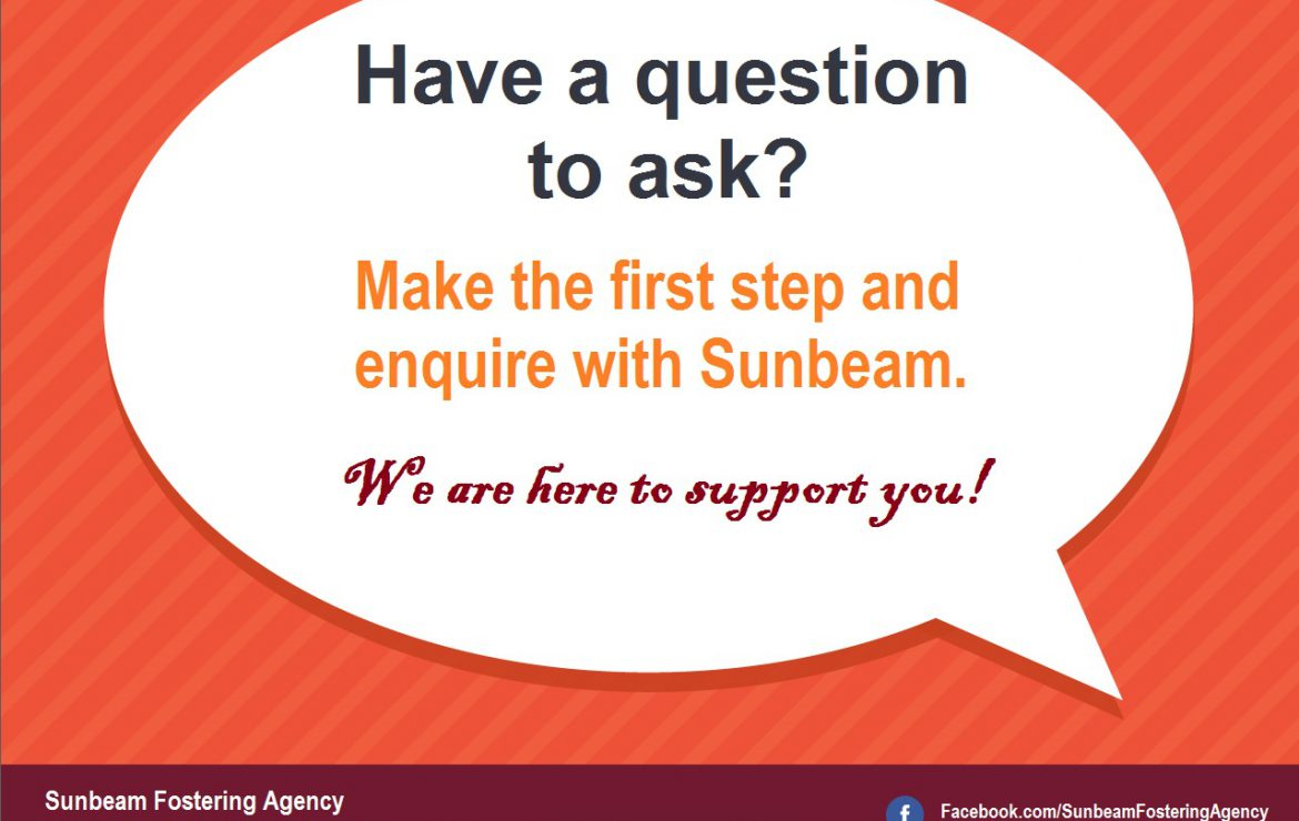 Make the first step and enquire with Sunbeam