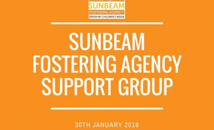 Sunbeam Fostering Agency Support Group: 30.01.18