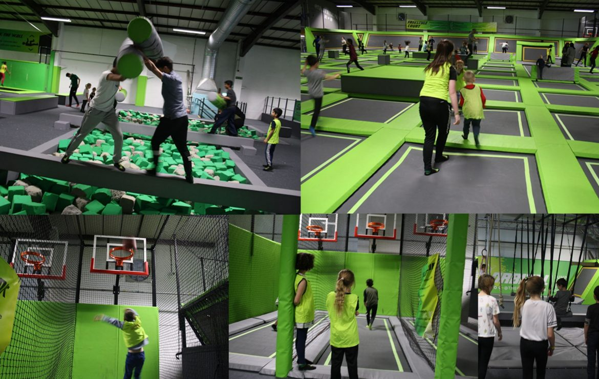 Trampoline Party Event!