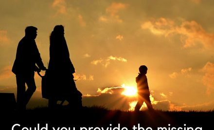Providing the missing attachment in a child's life