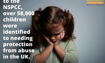 According to the NSPCC 58,000 children were identified to needing protection from abuse in the UK.