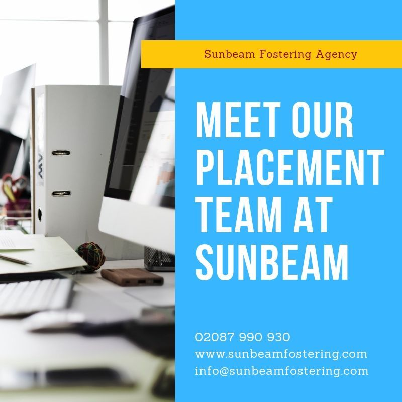 Sunbeam Fostering Agency - placement team