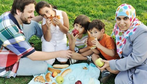 Muslim-Family-Fostering-Children