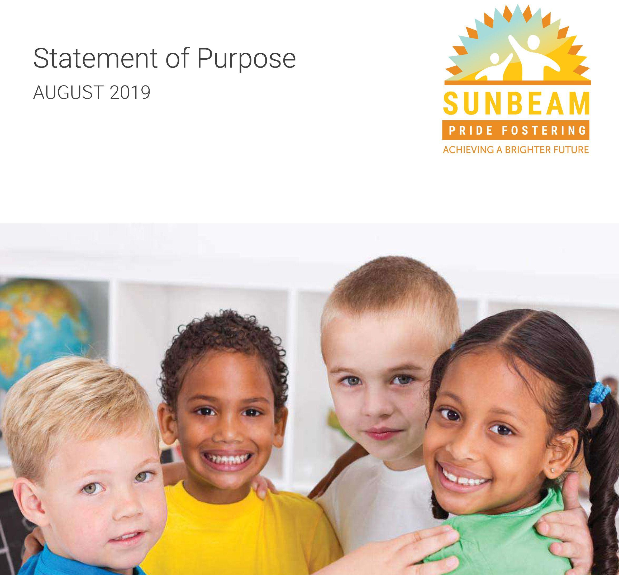 Statement of Purpose Pride