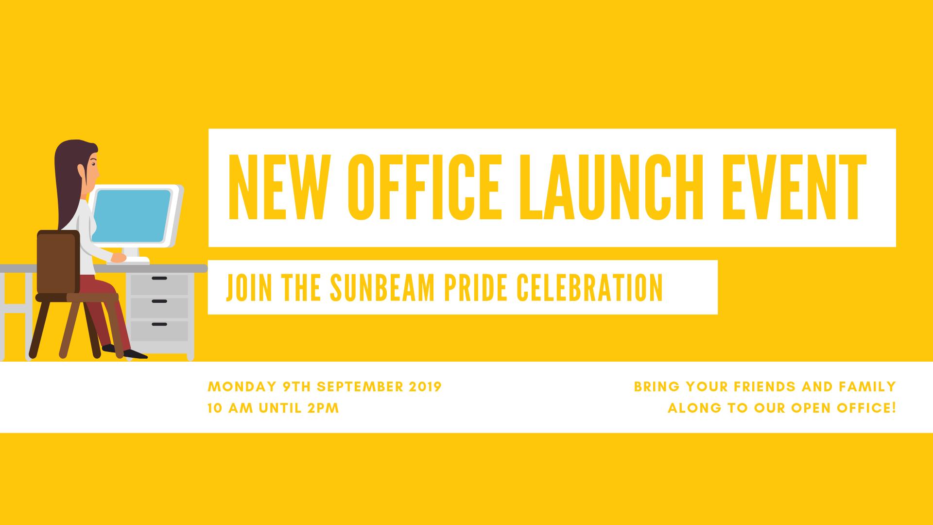 Sunbeam Pride Office Launch Event