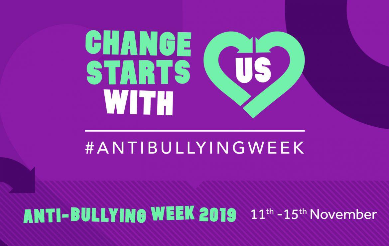 Anti-Bullying Week 11th – 15th November 2019
